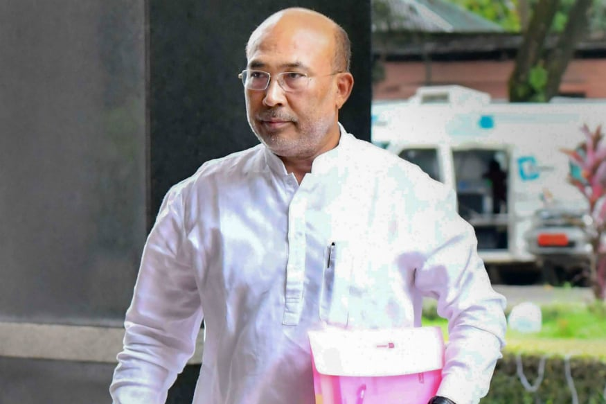 File photo of Manipur Chief Minister N Biren Singh.