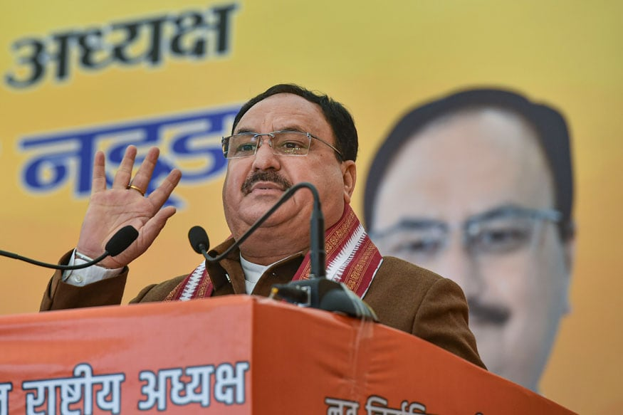 File photo of BJP National President Jagat Prakash Nadda (Image: PTI)