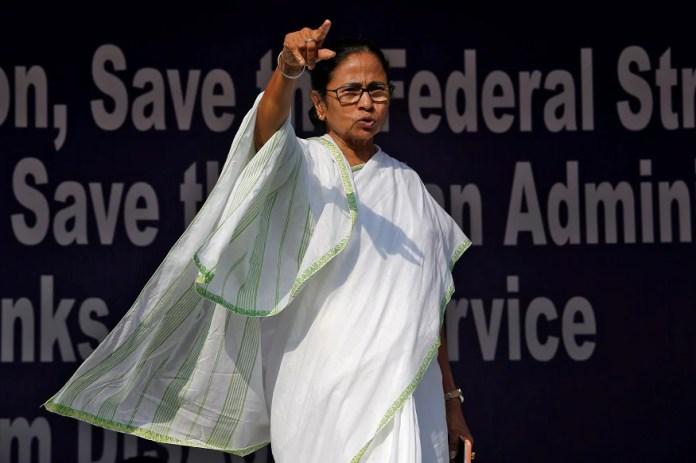 File photo of Bengal chief minister Mamata Banerjee.