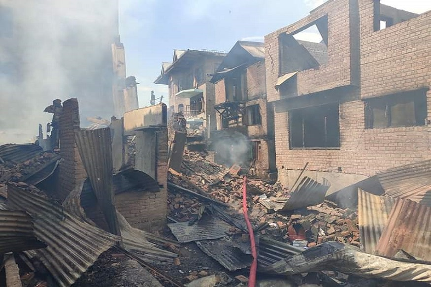 The property damage apart, the victim families also accused the forces of looting valuables from their houses.