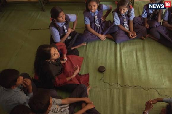 As many as 40 schools in the Bastar district are using Amazon Alexa virtual assistant powered Amazon Echo speakers in classrooms to make learning more fun for students, as part of the Smart Classes Project. (Image: Amazon)