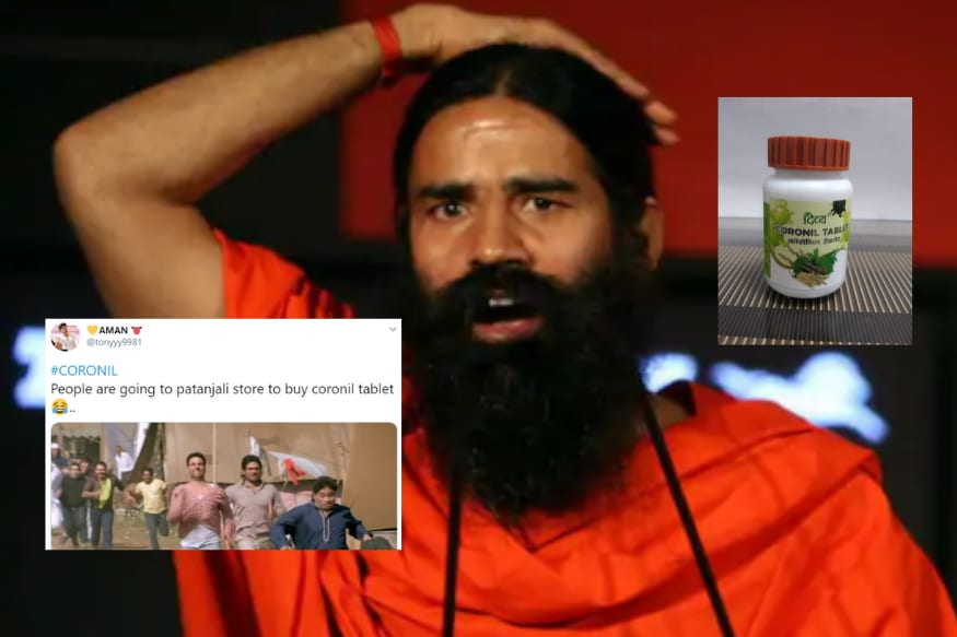 Patanjali Launches 'Coronil' as Ayurvedic 'Treatment' to Covid-19 and Twitter Has a Area Day With Memes