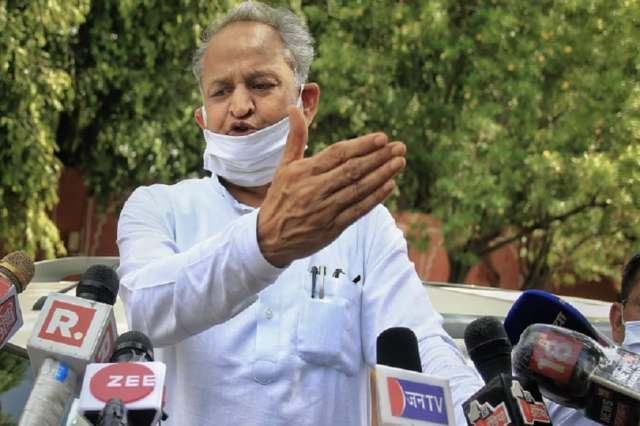 Rajasthan CM Ashok Gehlot launched a personal attack against his former deputy Sachin Pilot on Monday. (Photo: PTI)