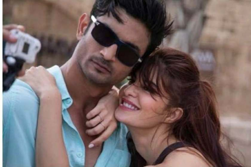 Sushant Singh Rajput and Jacqueline Fernandez in Drive