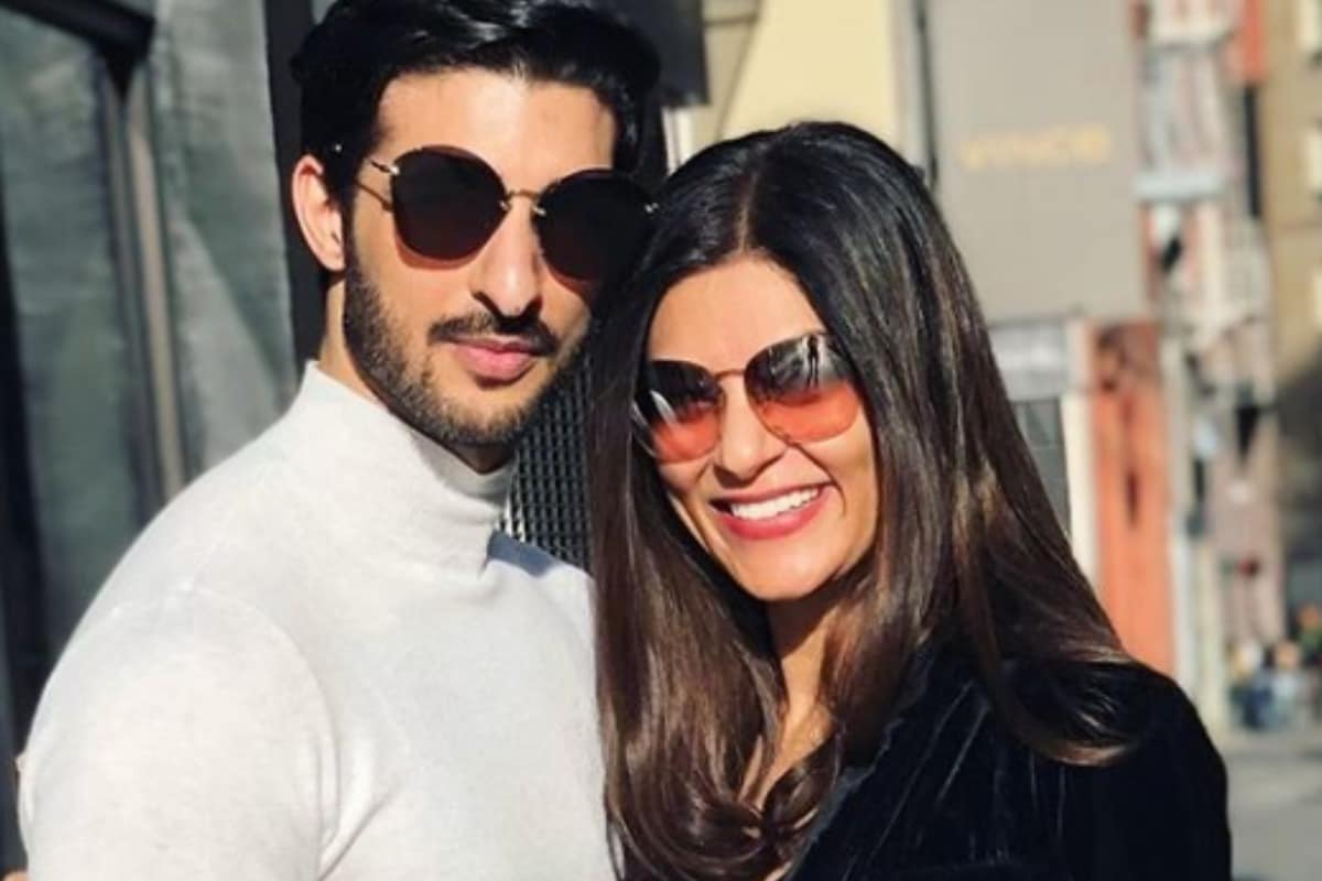 Sushmita Sen Celebrates 2-year Anniversary With Boyfriend Rohman Shawl, Says 'I Love You Infinity'