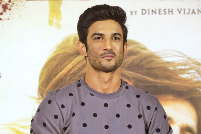In this April 17, 2017 file photo, Bollywood actor Sushant Singh Rajput poses during the trailer launch of his film 'Raabta' in Mumbai. (AP Photo/Rafiq Maqbool, File)