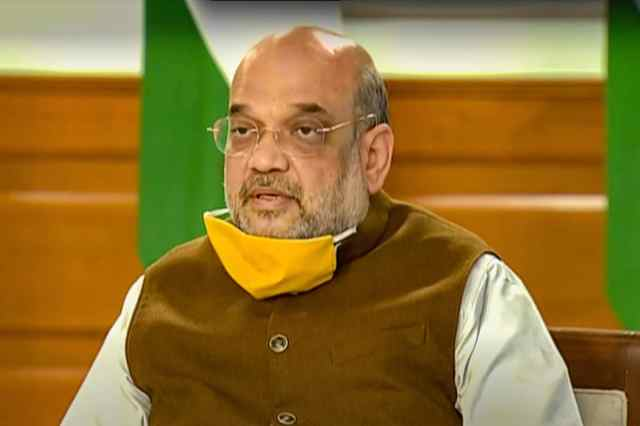 File photo of home minister Amit Shah. (PTI)