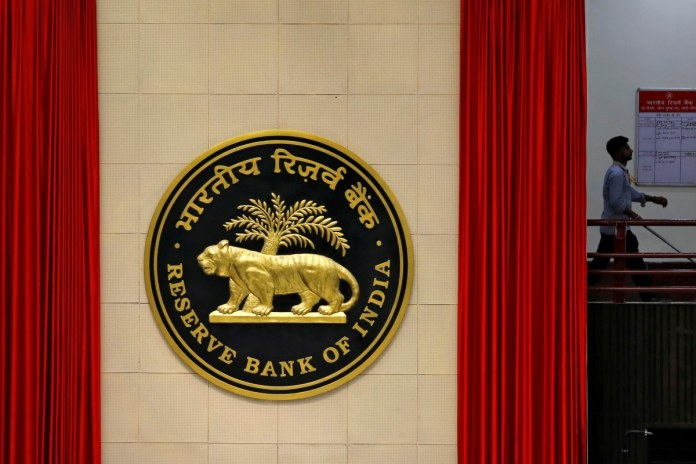 File photo of Reserve Bank of India logo.