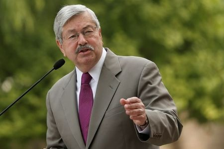 U.S. Ambassador To China Branstad Leaving Post To Help Trump Campaign, Official Says