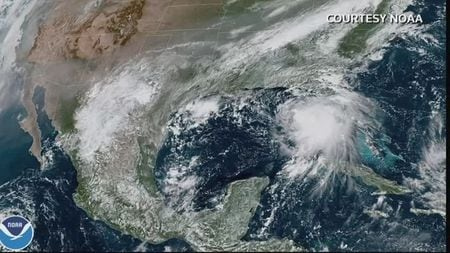 U.S. Gulf Coast Prepares For Second Hurricane In A Month