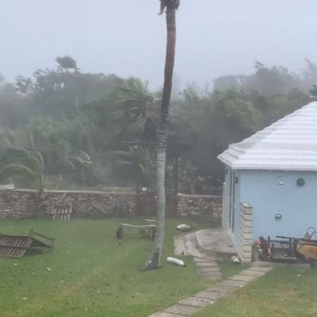 Hurricane Paulette Knocks Out Power In Bermuda But Moves On