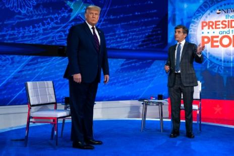 Takeaways: Trump's Town Hall Offered Preview Of Debates