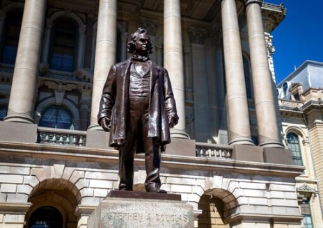 Douglas Statue Comes Down, But Lincoln Had Racist Views, Too
