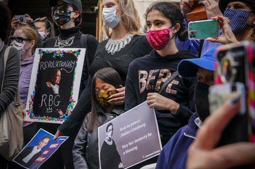 2020 Serves Another Blow As Ginsburg's Death Ignites Fight