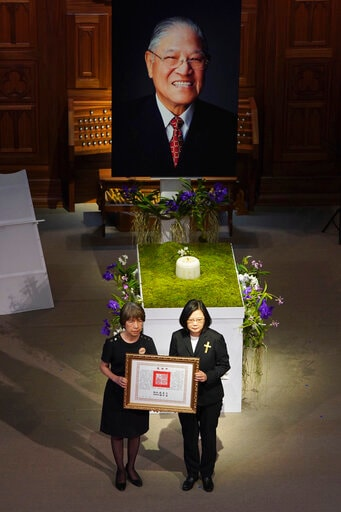 Taiwan, US Pay Tribute To Island's Leader, 'Mr. Democracy'