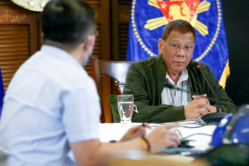 Asia Today: Duterte Extends Virus Calamity Status By A Year