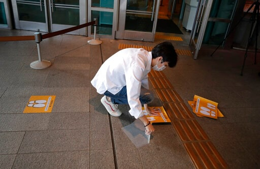 Asia Today: South Korea's Daily Virus Cases At Another Low