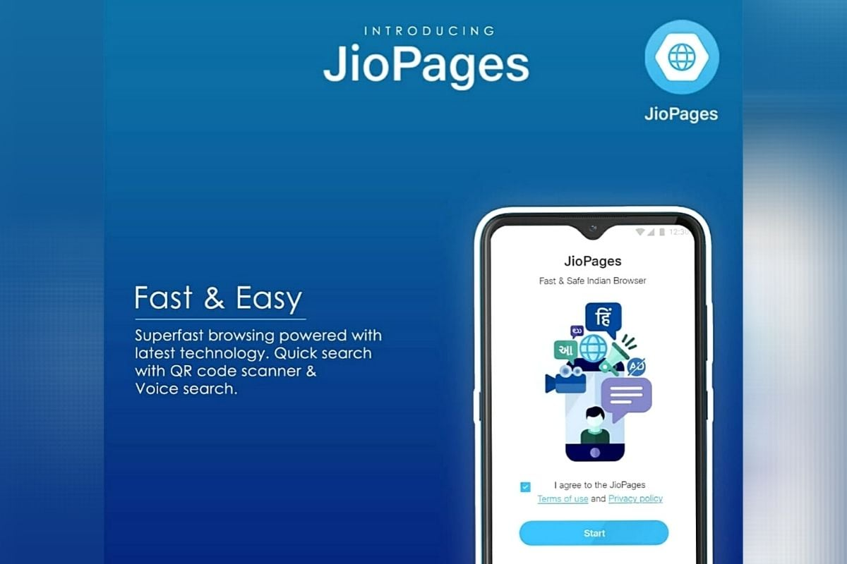 Reliance Jio Launches Privacy-Focused JioPages Web Browser for Android