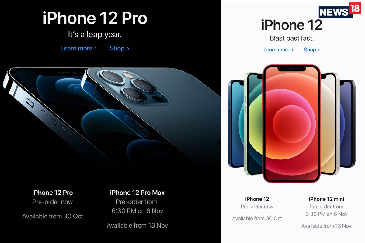 Apple India Online Store Now Shipping Apple iPhone 12 And iPhone 12 Pro