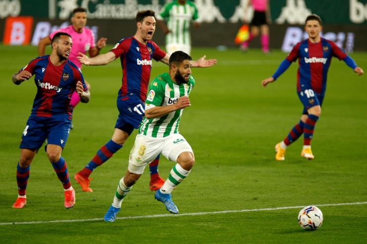 Real Betis and Levante (Photo Credit: Twitter)