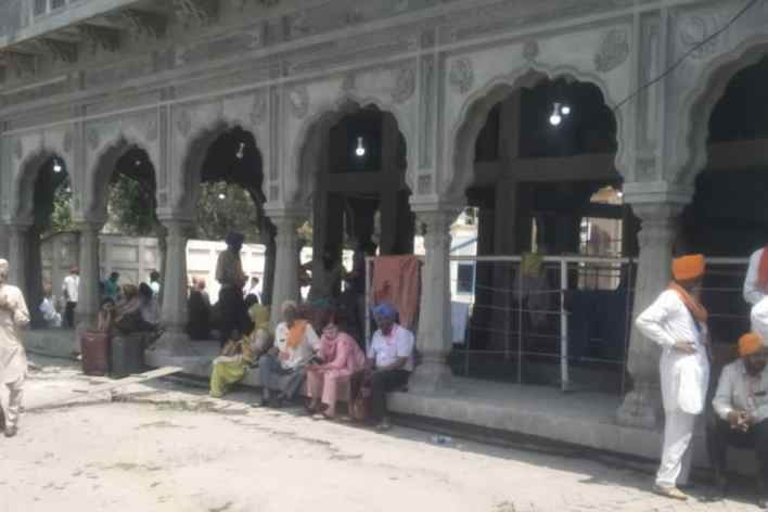 sikh pilgrims to pak's panja sahib gurdwara diverted to lahore as protests erupt after cleric's arrest