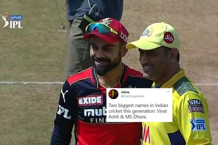 Dhoni-Kohli's 'Reunion' Photo During CSK vs RCB Clash Made Fans Forget About IPL Rivalry | Latest News Live | Find the all top headlines, breaking news for free online April 25, 2021