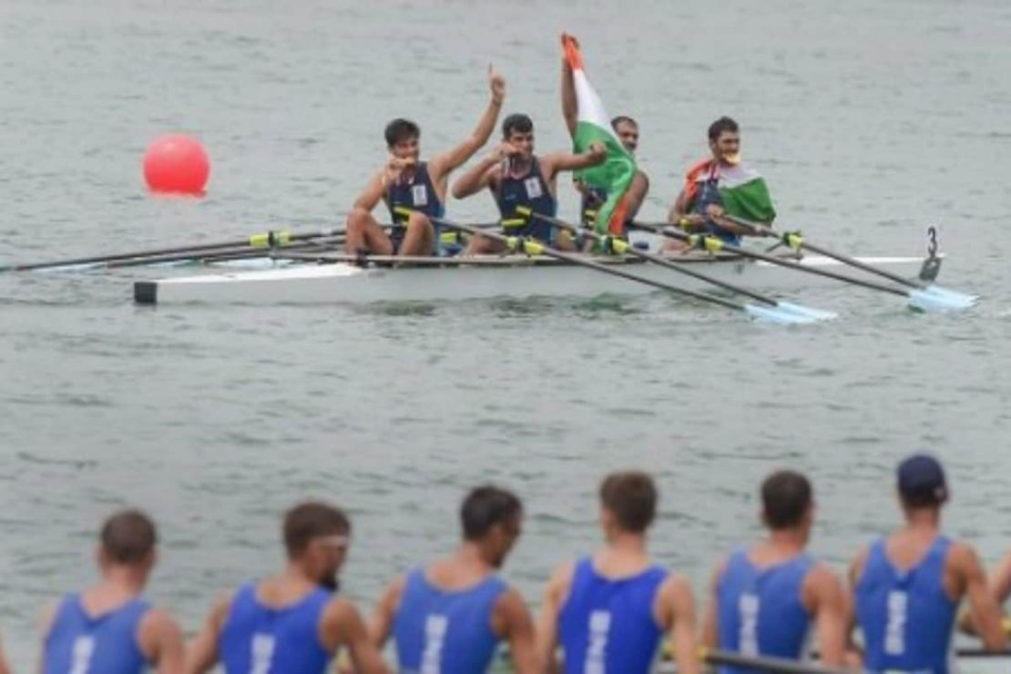 Representative image of Indian rowing team. (Photo Credit: Twitter)