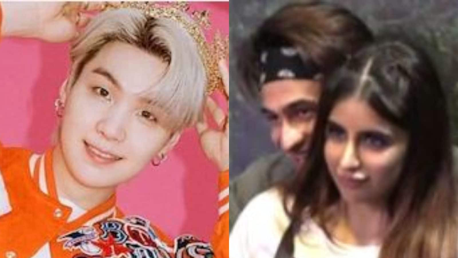 BTS Rapper Suga Once Chased By Obsessive Fan at Airport; Miesha Iyer, Ieshaan Sehgaal Kiss in New Bigg Boss 15 Promo