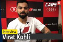 Interview: Virat Kohli during a Launch of a Audi RS5