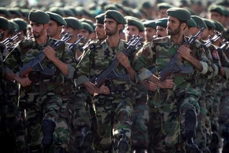 File photo of members of Iran's Revolutionary Guards. (REUTERS)