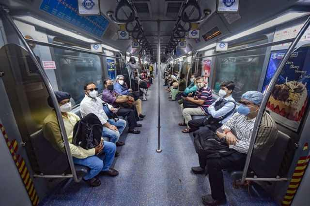 * From Thursday, all local trains in the state will be closed and 50 per cent passengers will be on metro and government transport.  File image.