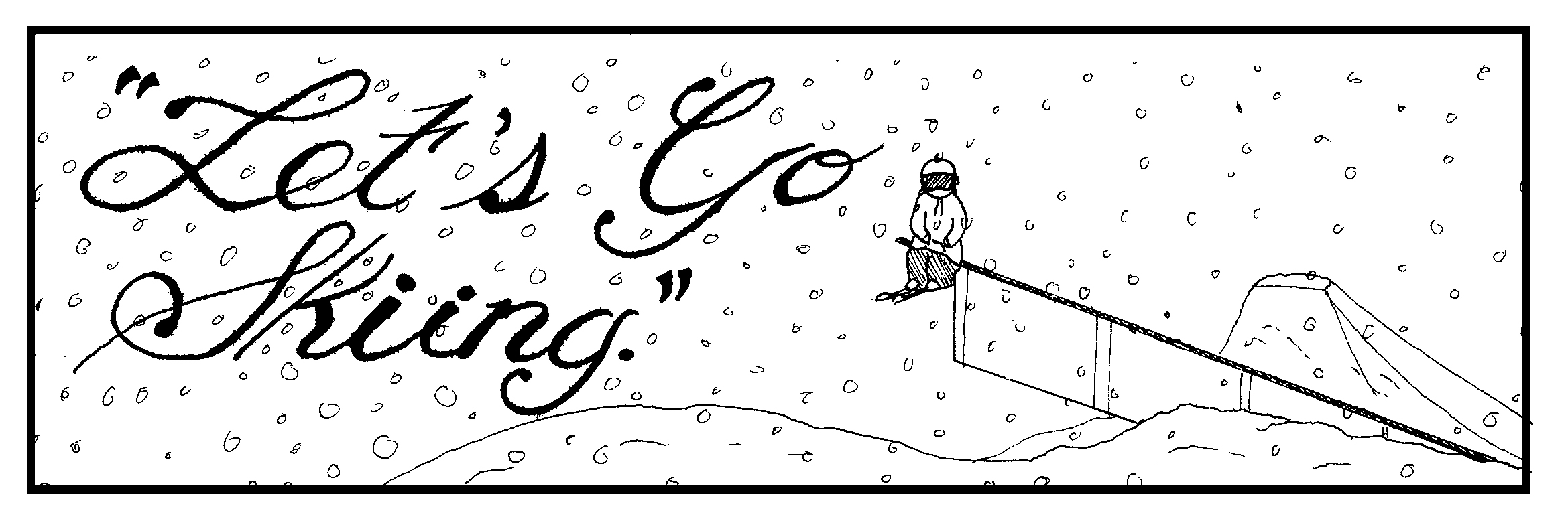 Let S Go Skiing Comic