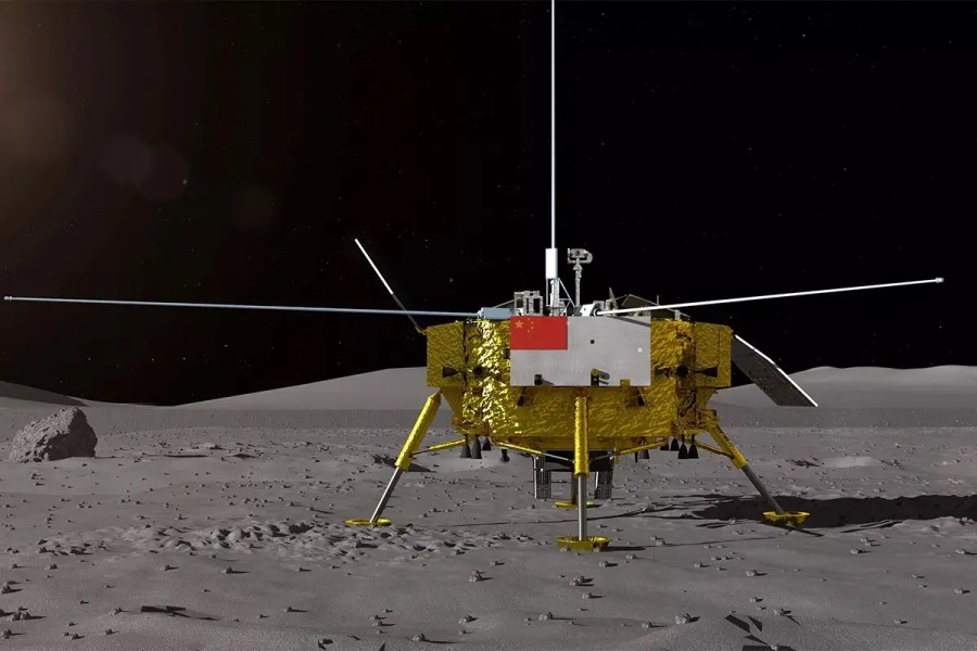 The Chang'e 4 lander is headed for the far side of the moon