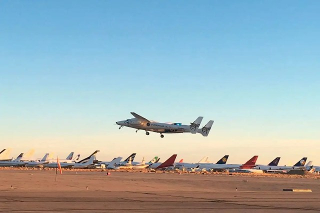 Virgin Galactic claims its first successful flight to edge of space