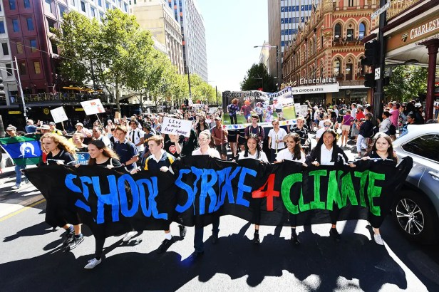 Students join massive global strike against climate change