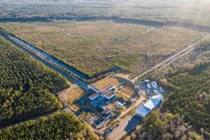 One of LIGO's gravitational wave detectors