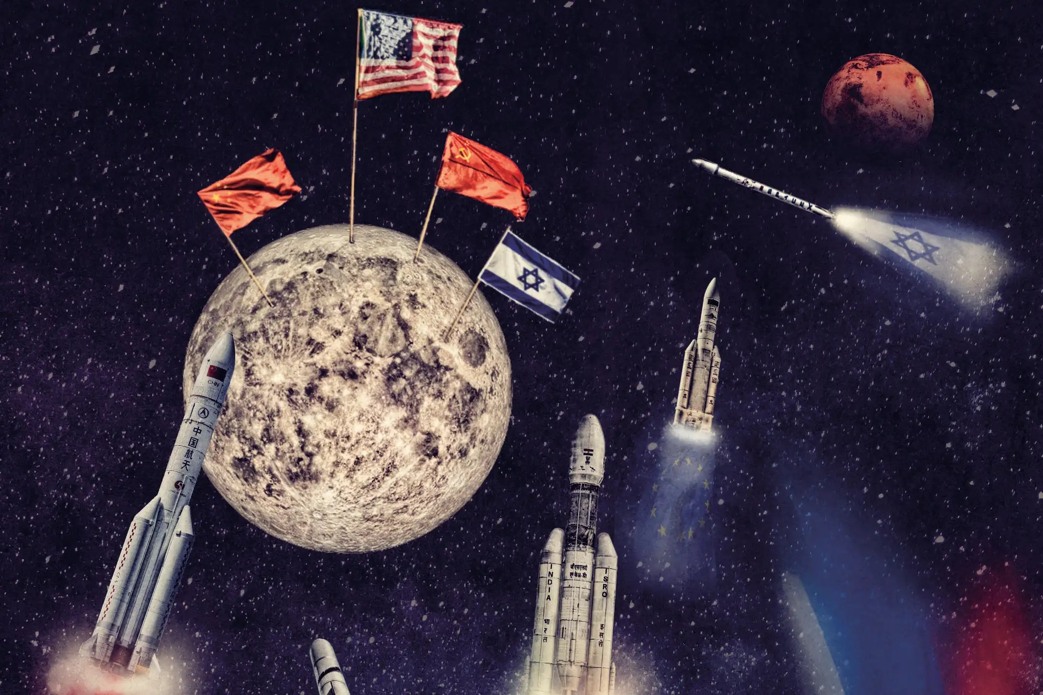 Inside The New Space Race Who Ll Be The First Back To The