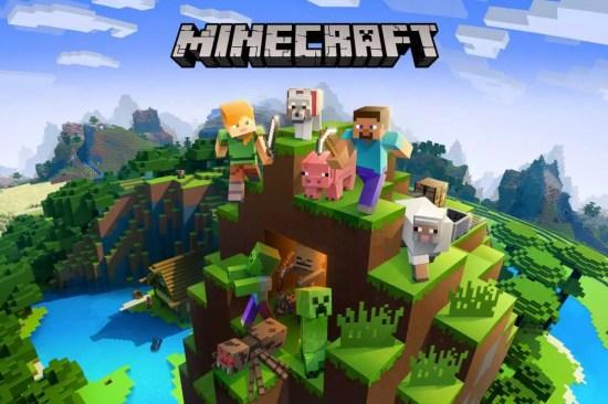 Minecraft on Nintendo