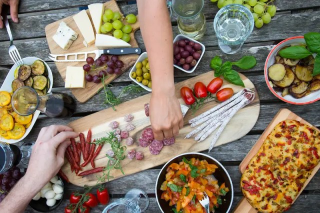 Eating a Mediterranean diet has been linked to numerous health benefits