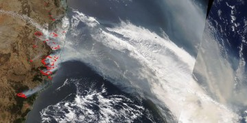 Smoke from Australia's bushfires has spread to South America