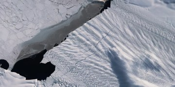 Part of a vital Antarctic glacier has unexpectedly stopped thinning