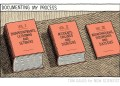 Tom Gauld is documenting his process in three volumes