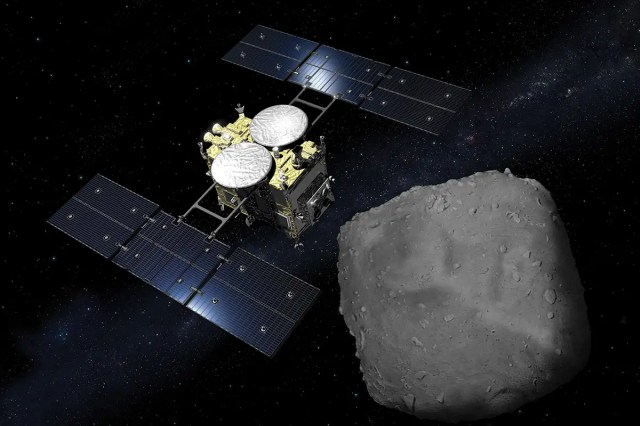 Hayabusa-2 asteroid Ryugu