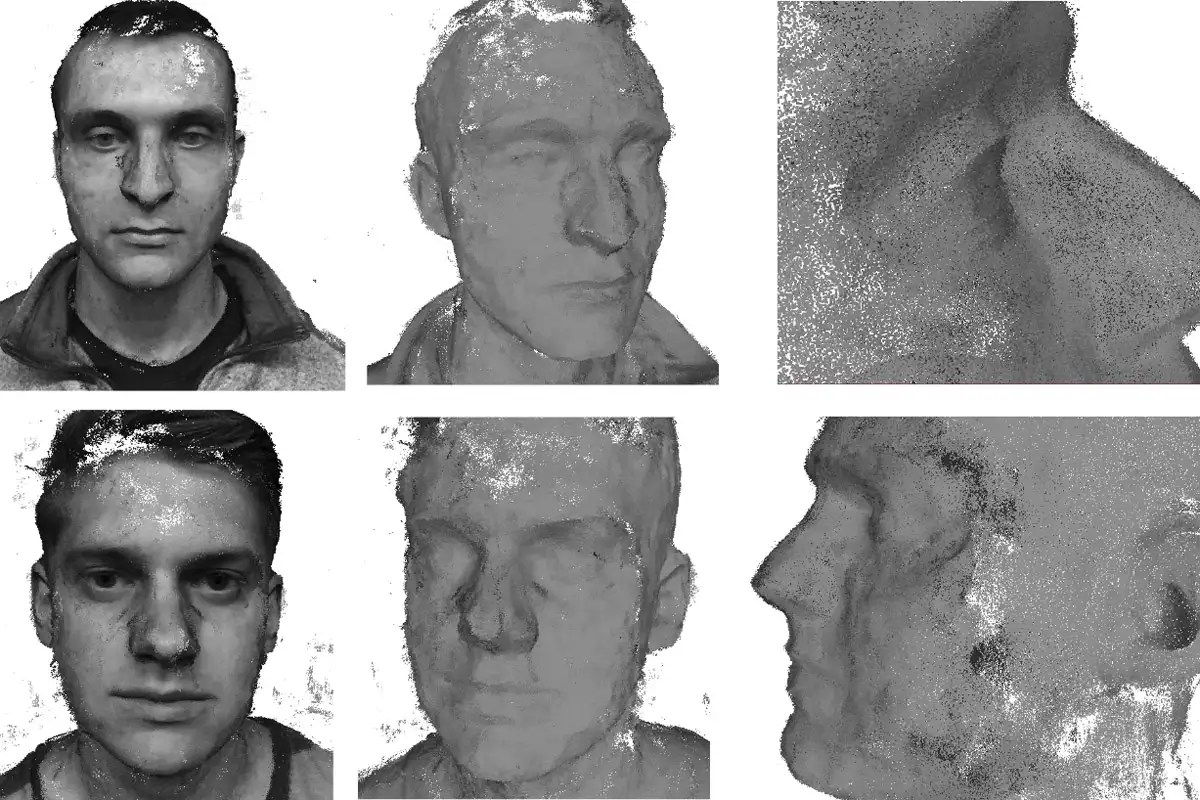 Software recreates a 3D model of your face from a smartphone video