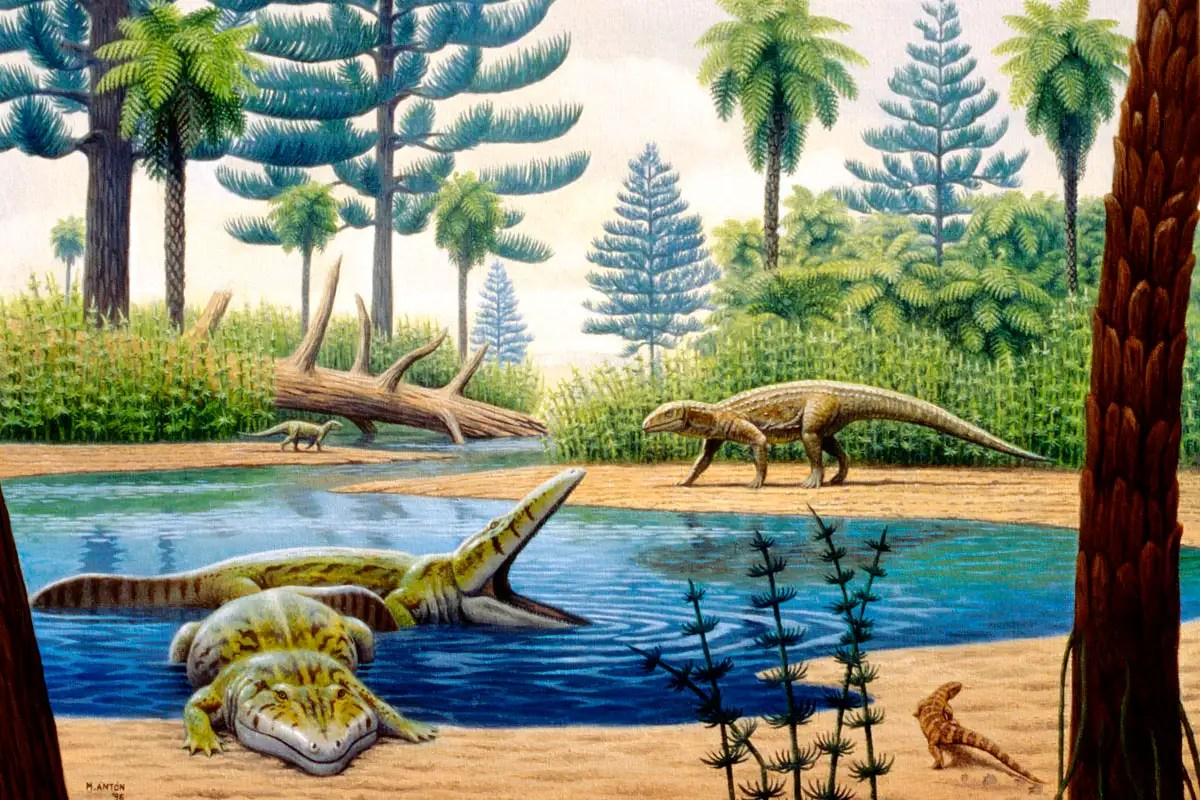 Rising sea levels may have helped dinosaurs dominate the planet
