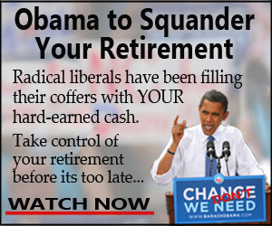 Obama to Squander Your Retirement: In this new video the scheme is exposed...plus, hear how you take control of your retirement with a simple 5-step rescue plan!