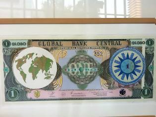 """Φωτογραφία για Το 'Globo', το """"παγκόσμιο νόμισμα"""" σε έκθεση στα κεντρικά γραφεία της Παγκόσμιας Τράπεζας!"""
