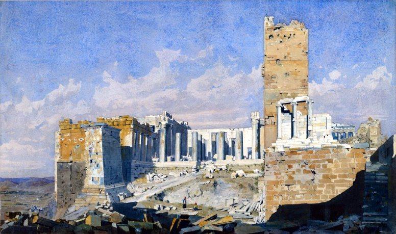 Πώς ήταν η Ακρόπολη το 1834! - Φωτογραφία 2