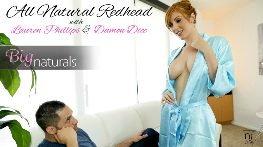 NFBusty.com - Damon Dice,Lauren Phillips: All Natural Redhead - S3:E7