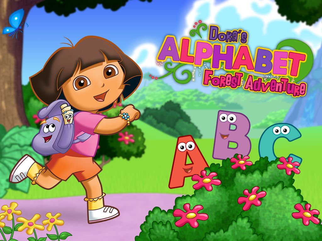 Dora S Alphabet Forest Adventure Game Letter Game